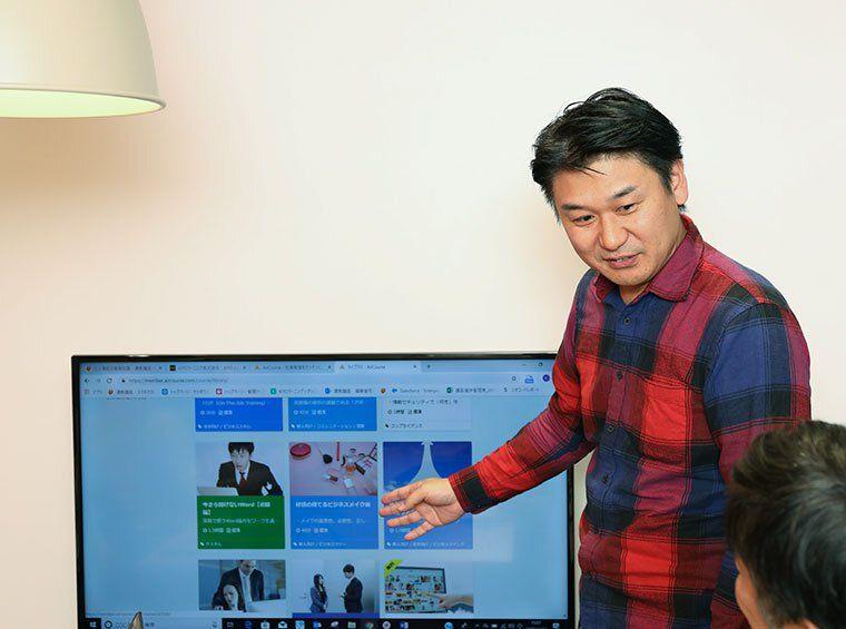 情報システム部 マネージャー 湯浅宣彦画像