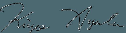 綾部貴淑サイン